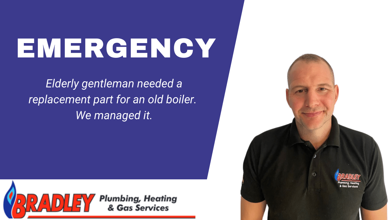 Emergency boiler in Chesterfield