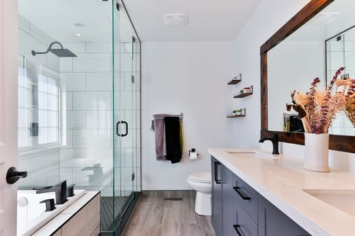 From paradise to practicality – bathroom upgrade